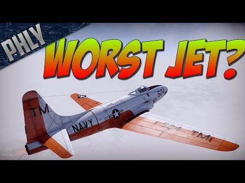 War Thunder Jet Gameplay! Omg I LOVE THIS PLANE.... :(
