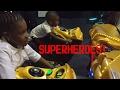 DC SUPERHERO GIRLS VS JUSTICE LEAGUE PARTY