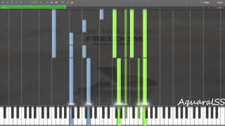 [Synthesia] Joe Hisashi - Oriental Wind (Piano Tutorial + DPS)