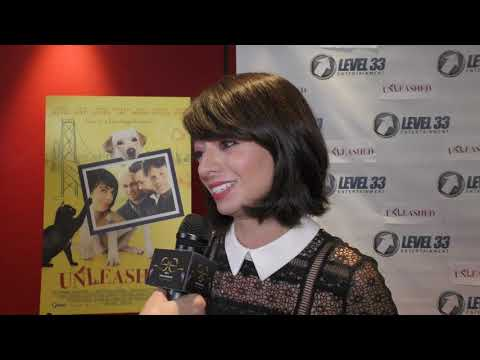 UNLEASHED Premiere - Carpet Chat with KATE MICUCCI