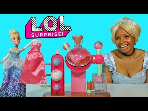 LOL Surprise Fizz Factory Fizzy Ball For Cinderella!    Toy Review    Konas2002