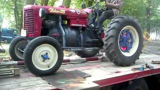 Mega MIX - stare traktory, zapach ropy, spalin dymek - różne akcje :)