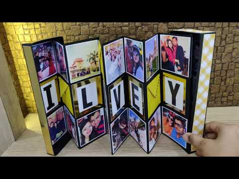 Photo box || birthday gift || best gift for boyfriend || anniversary gift || pull out box