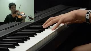 """Download Shigatsu wa Kimi no Uso ED 2 - """"Orange"""" -FULL- (Piano and Violin Cover)"""