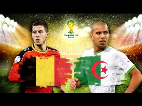 Brazil World Cup 2014-Belgium-Algeria 2-1 - the battle begins - teams overview - fans overview