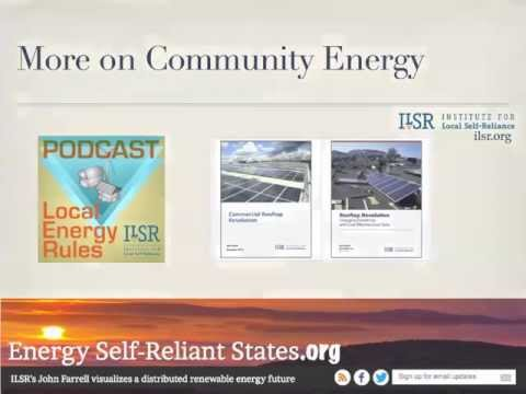 5 Barriers to and Solutions for Community Renewable Energy