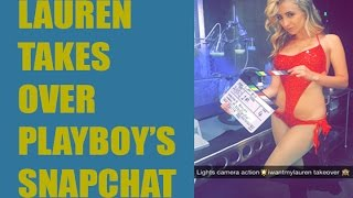 My Playboy Now Snapchat Take over Story