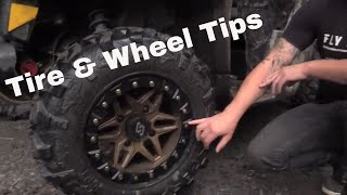Tire & Wheel Info/Tips with Western Powersport