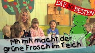 Mh mh macht der grüne Frosch im Teich - Singen, Tanzen und Bewegen || Kinderlieder thumbnail