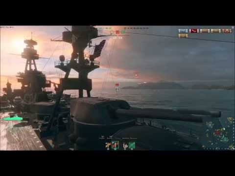 World of Warships 0.4.1. Dispersion Changes w/ New York BB - Dont Mess With Texas!