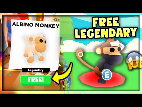 How To Get A FREE LEGENDARY MONKEY In Adopt Me! (Roblox)