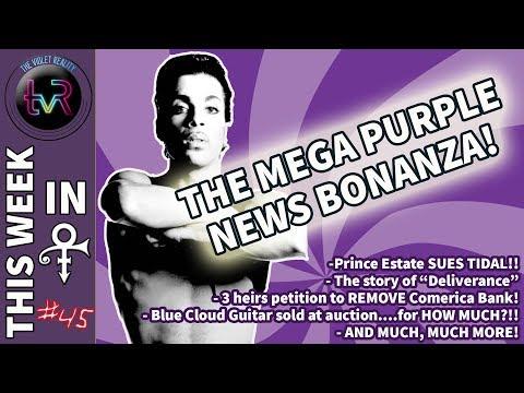 Prince Estate SUES TIDAL! // Mega Purple News Bonanza! // This Week in Prince #45!
