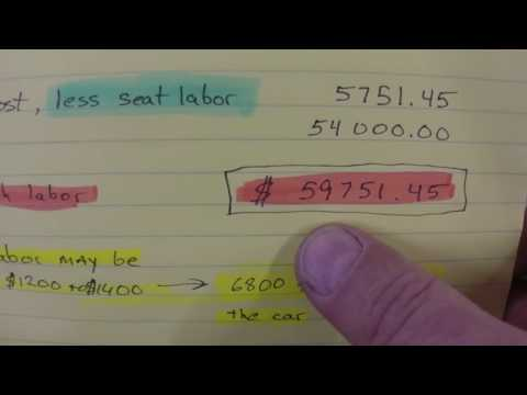 Cost of fixing up the 1960 Pontiac Catalina barn find