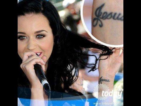 Katy Perry Tattoos