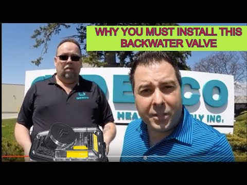 The Importance of using a Mainline Backwater Valve (Desco Plumbing and Heating Supply Inc.)