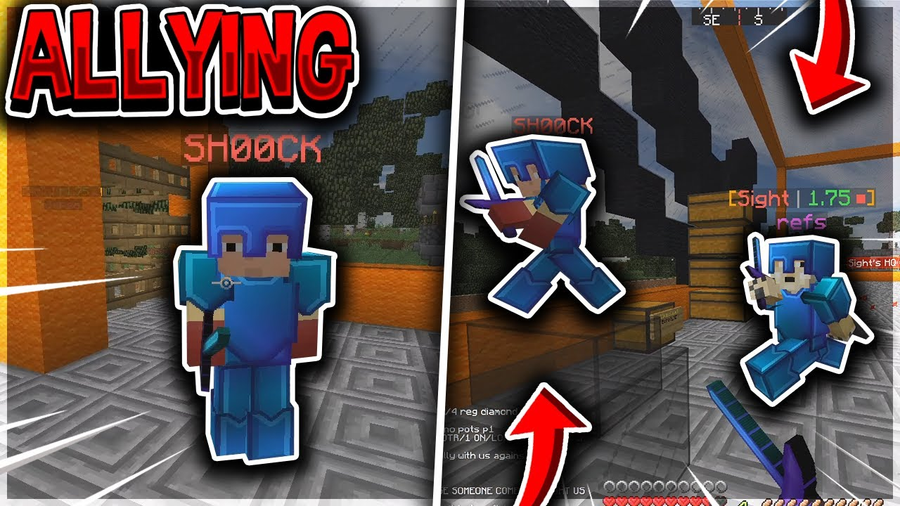 they tried ALLYING on us to avoid going raidable... | Minecraft HCF