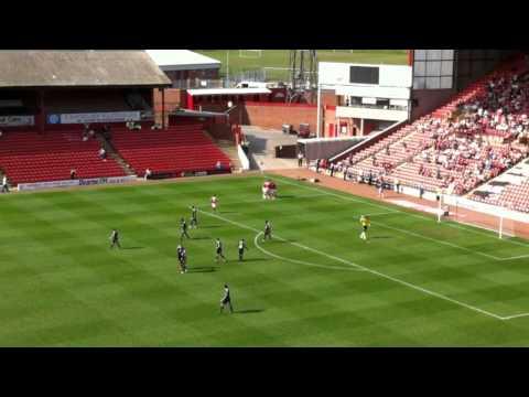 Andy Gray's Penalty Vs Bristol City 9/04/11
