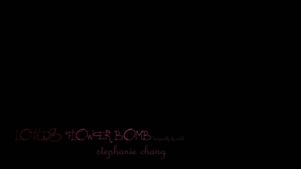 Lotus flower bomb cover wale stephanie chang youtube lotus flower bomb cover wale stephanie chang mightylinksfo