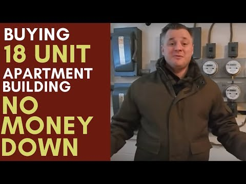How I Bought a 18 unit Apartment Building With No Money Out of Pocket