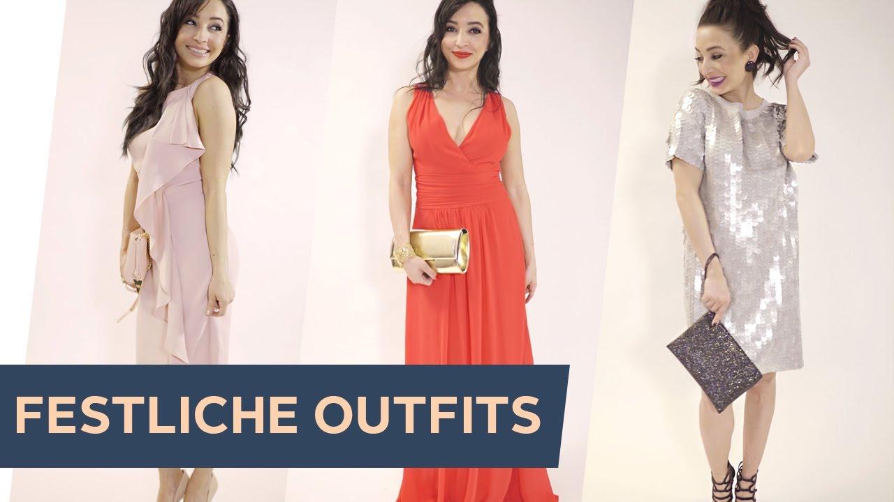 how to style: 3 festliche outfits für taufe, hochzeit oder abiball ~  refashion |otto