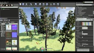 SpeedTree Tutorial - Wind inside Unreal Engine 4