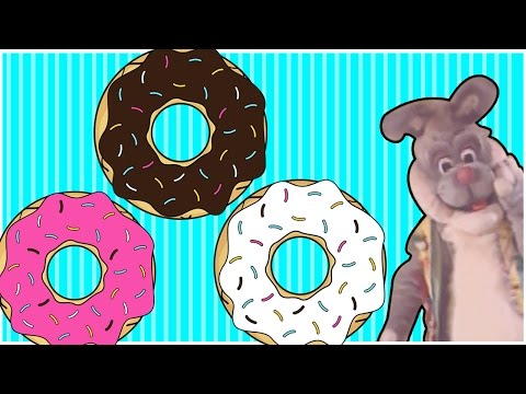 The Donut Song | Nursery Rhymes For Children & Kids Songs With Buddy Rabbit