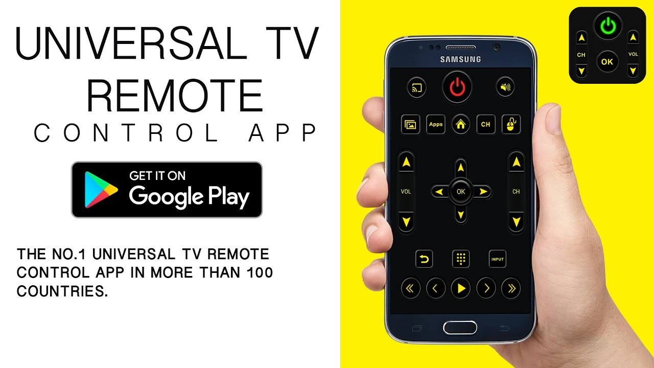 The No 1 TV Remote App to control your TV