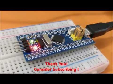 Programming STM32F103C8 Board (Blue Pill) using USB Port