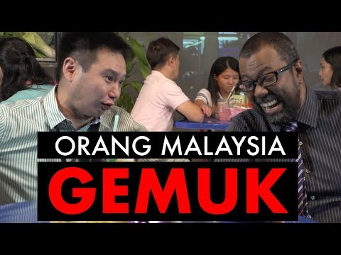 MALAYSIANS ARE GETTING FAT!