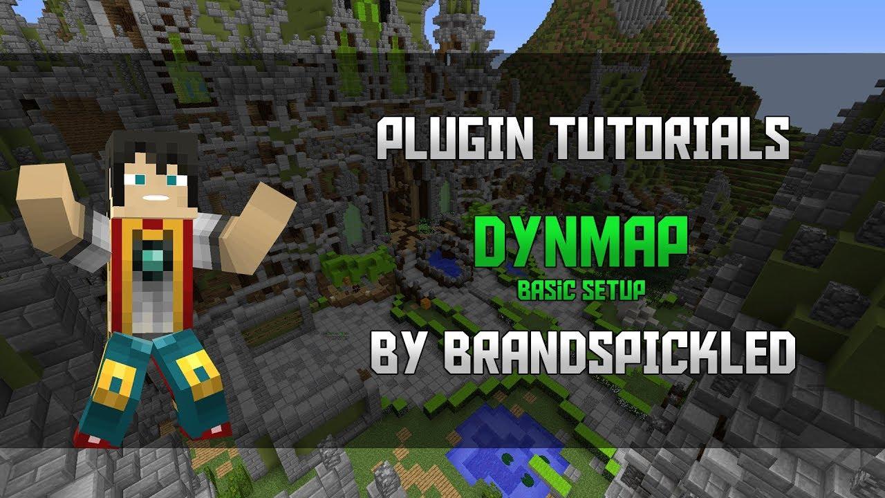 Minecraft Plugin Tutorials - DynMap - Basic Setup