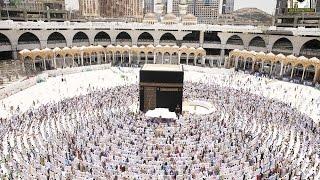 الحج عبادة وتقديس لمعالي فضيلة الشيخ أ د عبدالرحمن السديس 5 12 1437هـ