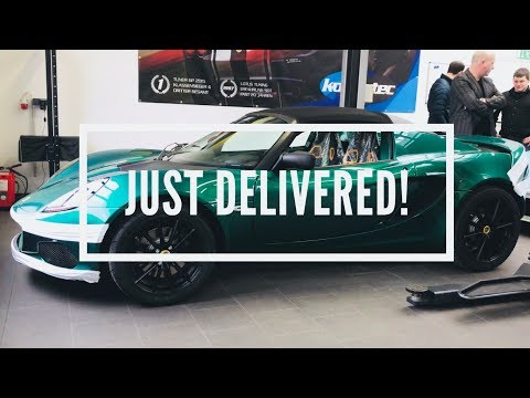 Elise 220 Sport. New Lotus Has Arrived! - A Life With Lotus