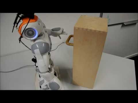 Exploring and Grasping Unknown Objects with NAO: Drawer Handle