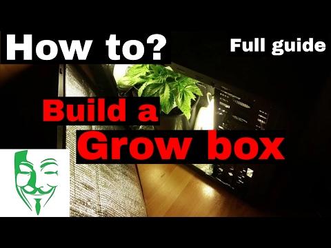 HOW TO build a GROW BOX for Autoflower Micro grow FULL EXPLANATION!!!!!