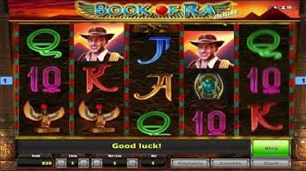 Kostenloser Book of Ra Deluxe Spielautomat von Novomatic Video Vorschau | HEX