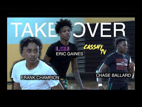 LSU COMMIT Eric Gaines TAKES OVER Open Run Along w/ Crafty Frank Champion & Shifty Chase Ballard😱‼️