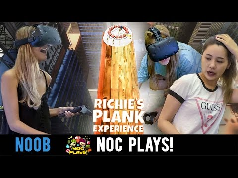NOC Plays Riche's Plank Experience! (HTC Vive)