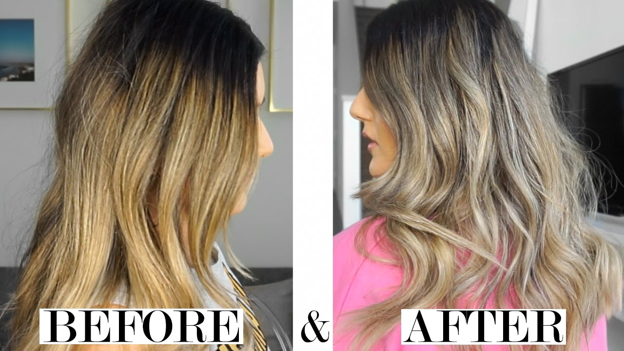 Brassy To Ashy Diy How To Tone Your Hair With Shampoo