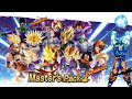 34 x Master Pack 1 Free Tickets Summons| DRAGON BALL LEGENDS