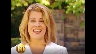 "Lisa Whelchel filming the FOL reunion movie on ""Entertainment Tonight"" (2001)"