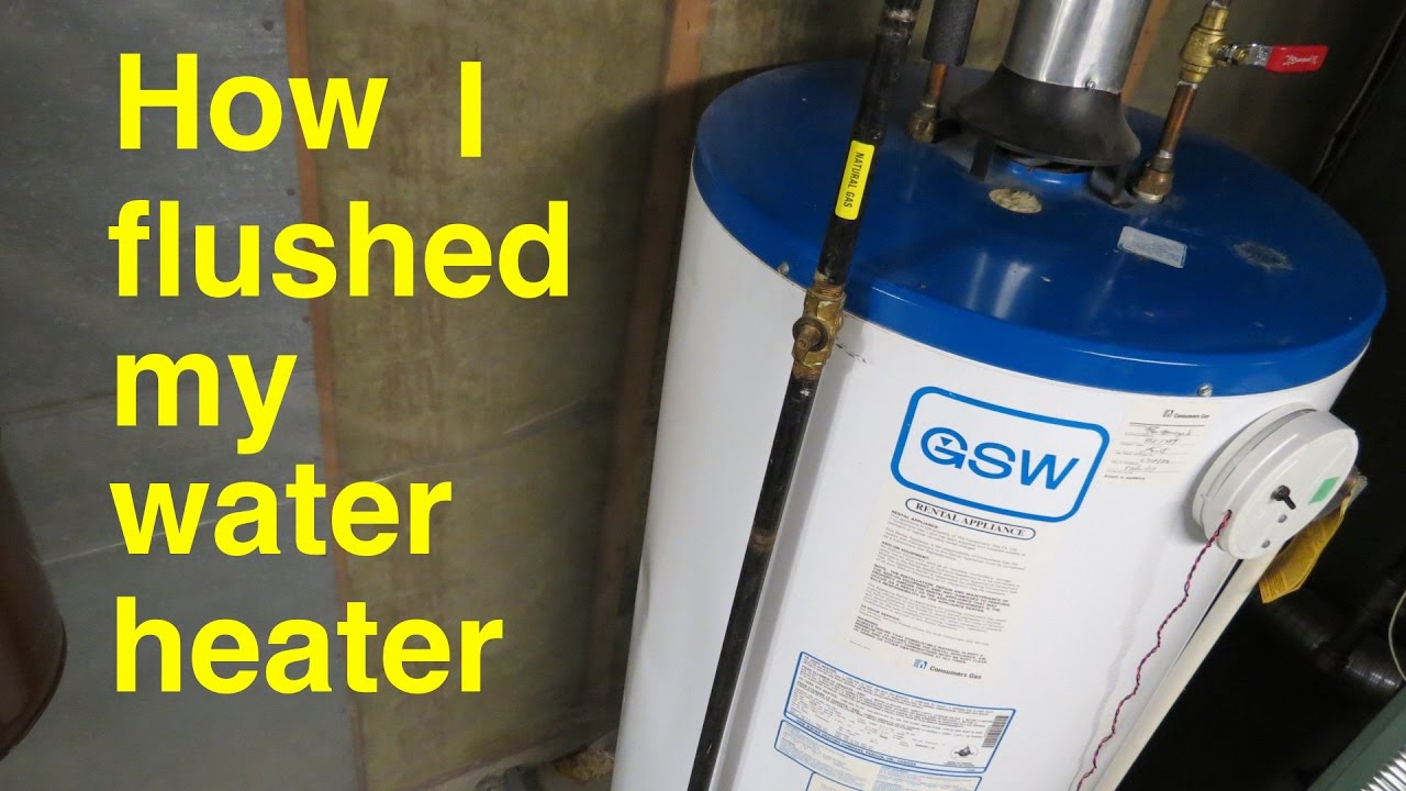 How To Flush A Water Heater Simple Steps You
