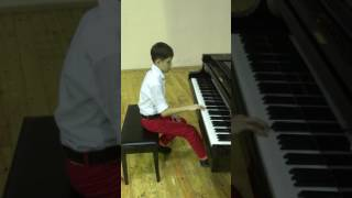 Даниэль Береза, 12 лет, Полонез Агинского.