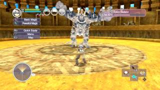 Rune Factory: Tides of Destiny - Tips for the Golem Gladiator
