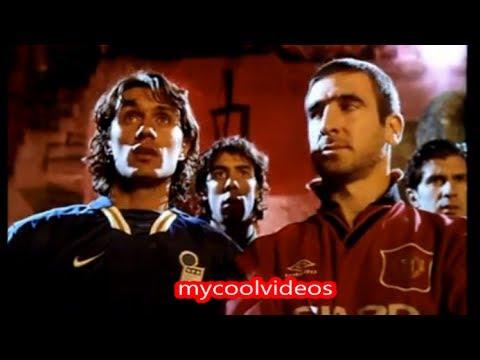 Qué fue de los 24 jugadores que aparecieron en la 'jaula de nike' en. Match In Hell With Cantona Ronaldo Kluivert Campos Nike Good Vs Evil Youtube