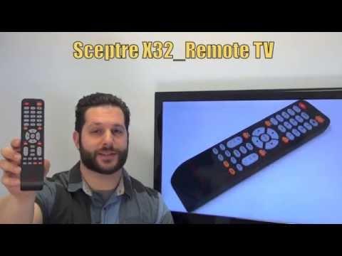 Sceptre X32 REMOTE TV Remote Control - www