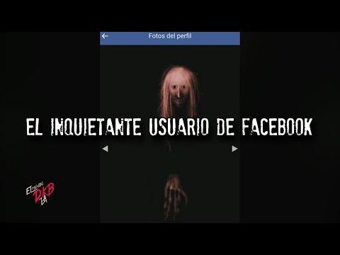 El inquietante usuario de facebook