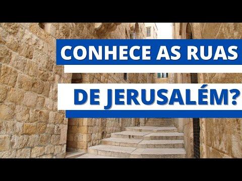 Passeio pela cidade velha de Jerusalém