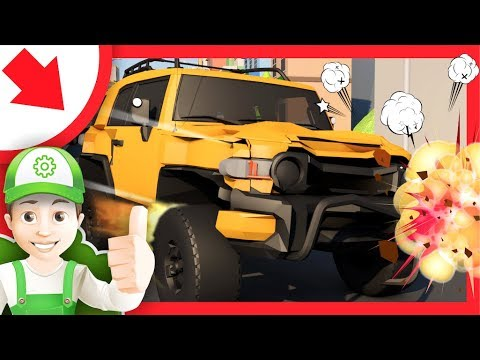 Cartoni animati educativi per ragazzi. Macchine bambino. cartoni animati italiano. Bambini Camion.