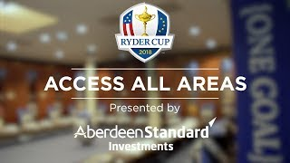 Ryder Cup Access All Areas | Ep. 1 | The Locker Room