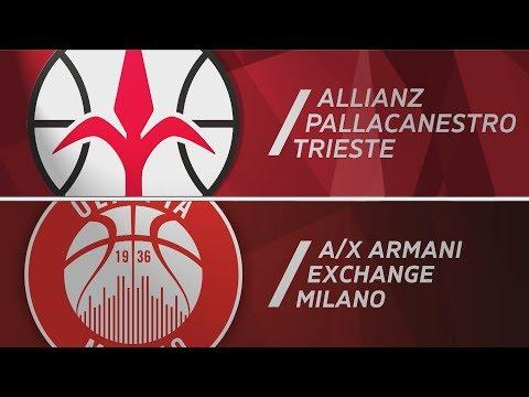 HIGHLIGHTS/ Allianz Pallacanestro Trieste - AX Armani Exchange Milano 67-85